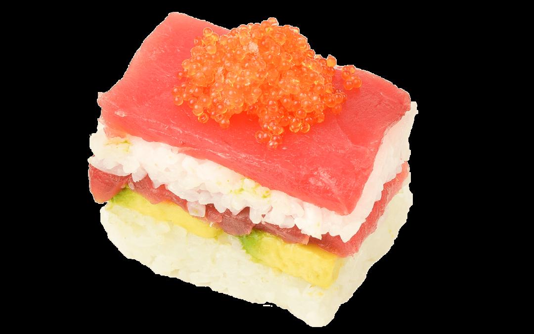 Oshi Sushi Tonijn – 8 Stuks