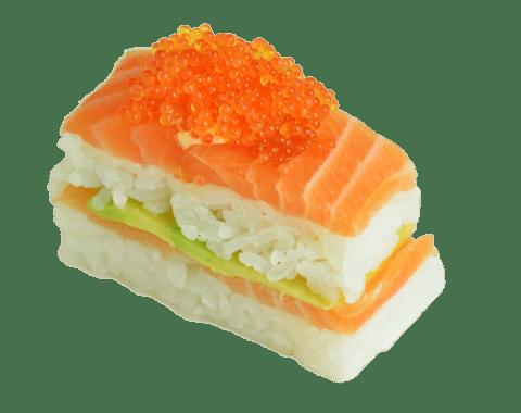 Oshi Sushi Zalm - 8 Stuks