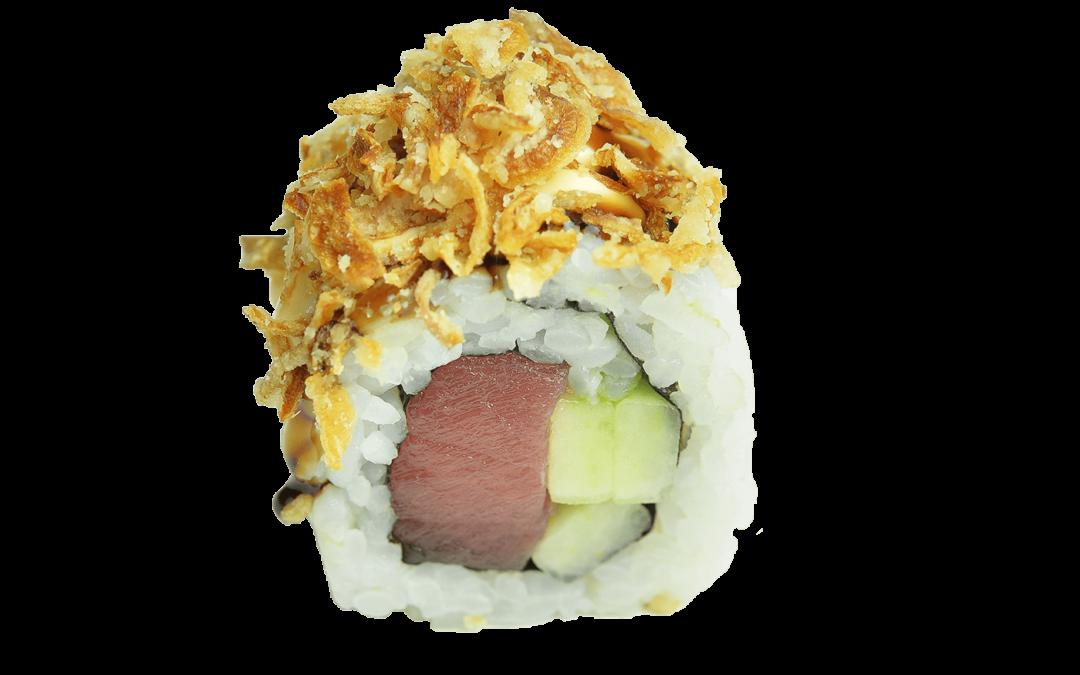 Crunch Tonijn Roll – 4 Stuks