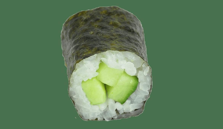 Komkommer Maki - 6 Stuks